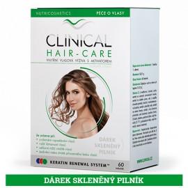 CLINICAL HAIR-CARE 60 tobolek + skleněný pilník ZDARMA